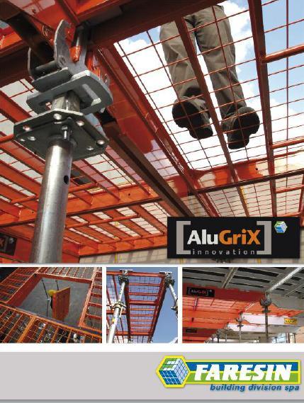 опалубка для перекрытий AluGrix